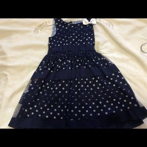 Other - kids blue dress with bow